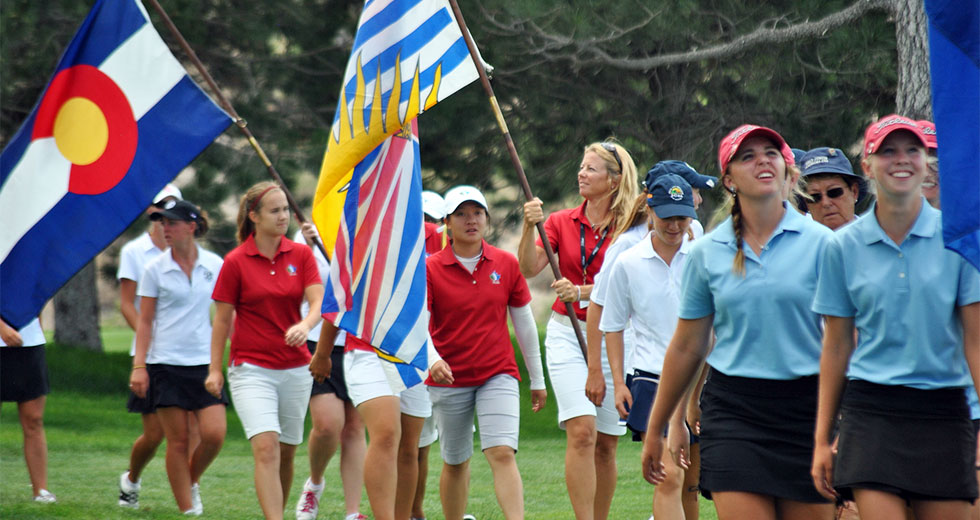 Mission - provide a premier international team golf tournament that encourages sportsmanship, friendship, personal growth and development of young women golfers.