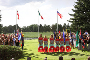 Opening Flag Ceremony